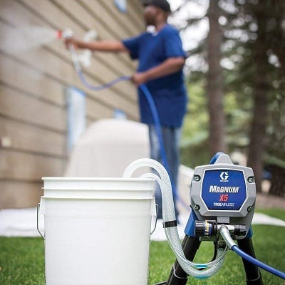 Graco magnum x5 for Exterior Walls Painting