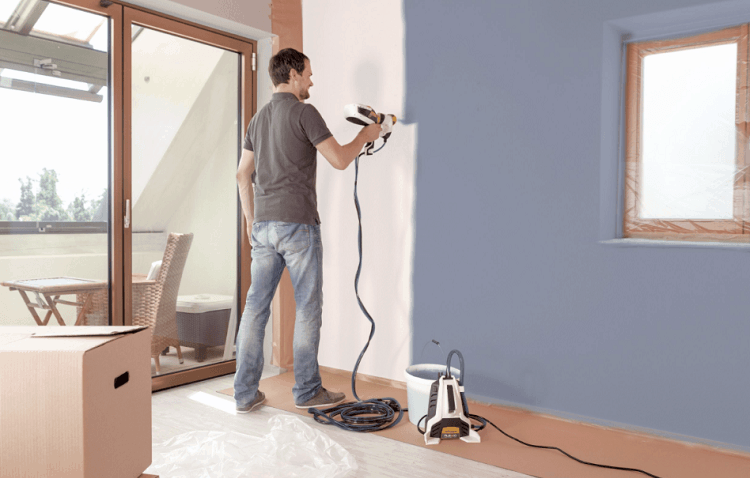Best Airless Paint Sprayer For Interior Walls 2020 Video