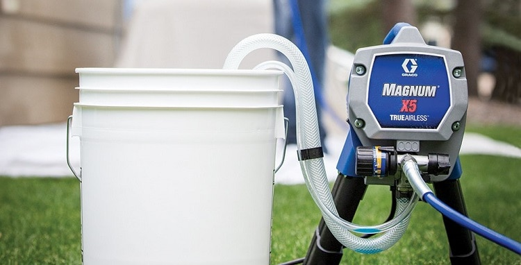 graco magnum x5 airless paint sprayer review