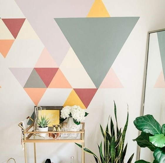 15 Timeless Wall Paint Design Ideas With Tape Of 2021