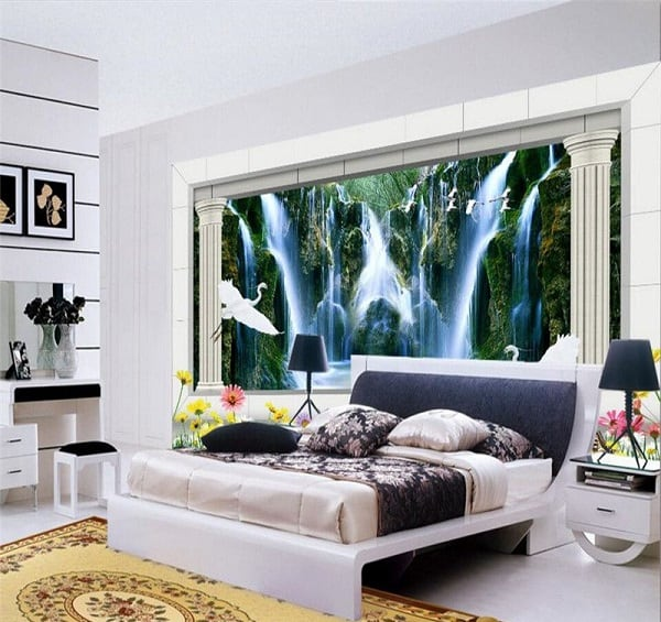 15 Magnificent 3D Wall Painting for Your Bedroom + Photos