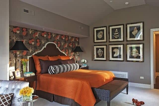 15 dazzling two color combination for bedroom walls for 2019 - Two colour combination for bedroom walls ...