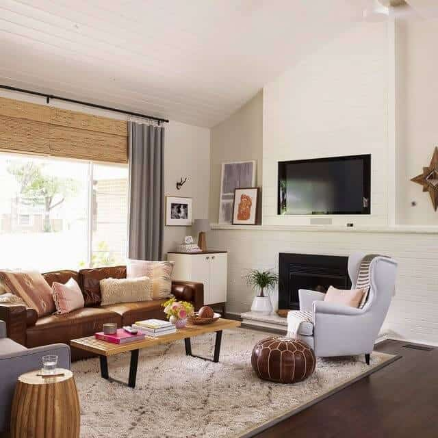 15 Exquisite Living Room Paint Colors With Brown Furniture,Magnolia Farms Waco Tx Hours