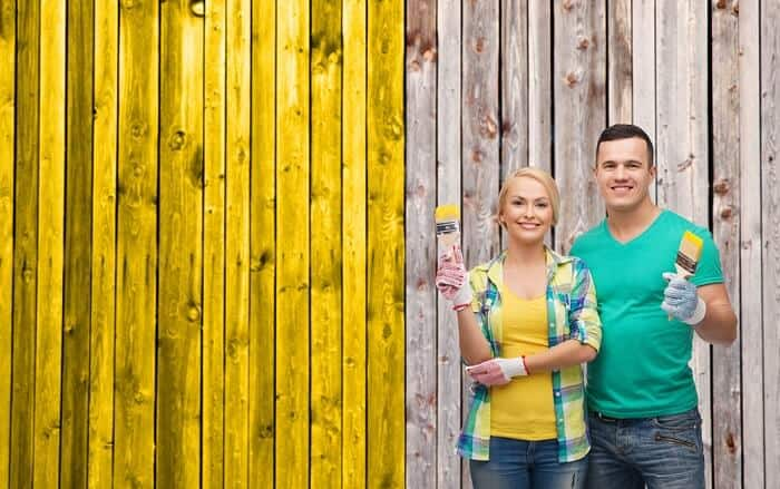 best paint for wooden fence