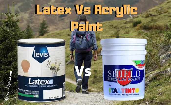 Acrylic Vs Latex Paint >> Latex Vs Acrylic Paint In Depth Overview