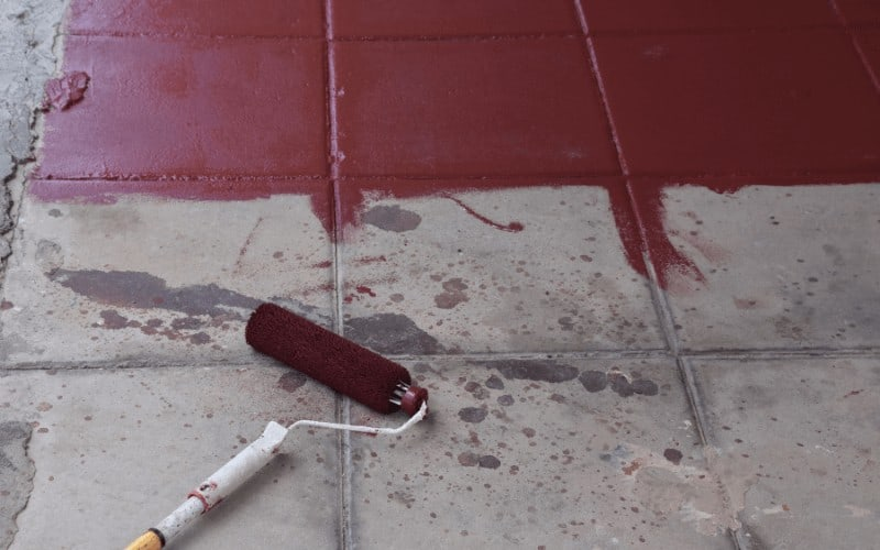 How To Remove Paint From Concrete Floor